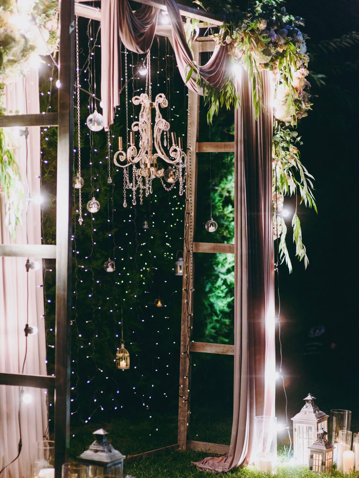 Creative Wedding Arch